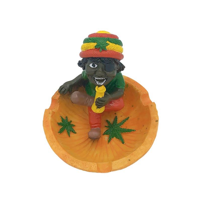 Gạt tàn Rasta Cool ngầu, gạt tàn thuốc gai dầu, gạt tàn Bob Marley GBM-001 - Chợ 420 -cho420.com